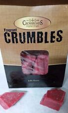 Crossroads Jelly Donut 6oz ounce Scented Crumbles Cubes Wax Bag