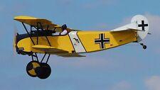 Airdrome Fokker D-VII Amateur-Built Aircraft Airplane Wood Model Free Ship Large