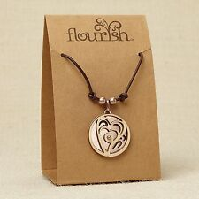 Heart Necklace ~ Flourish Jewelry Collection by Lauren Picciuna ~ 4044637