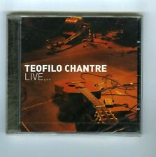 CD (NEW) TEOFILO CHANTRE LIVE IN PARIS (CAP VERT/ CABO VERDE)
