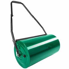 tectake Rullo da Giardino Compressore 60cm Manuale Metallo - Verde (402286)