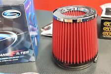 Simota 4.5 Inch Dual Entry High Flow Air Filter - RED