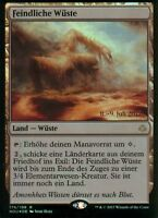 Feindliche Wüste FOIL / Hostile Desert | NM | Prerelease Promo | GER | Magic MTG