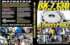 Porting Rotary Engine DVD By Mazdatrix / KMR, 13B, 20B, 12A, FD3S, FC3S, SE3P