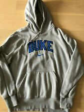 Vintage Duke University Blue Devils Sewn-On Hoodie Pullover Sweatshirt Mens XL
