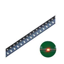 100pcs 1206(3216) SMD LED Diode Lights Red Super Bright Lighting Bulb