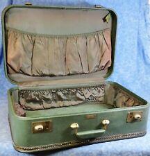 Vtg. Mid-Century JC Higgins Medium Sized Hard Suitcase Luggage -EUC