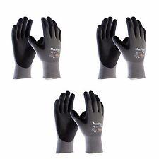 Atg Work Gloves Nitrile Grip Maxiflex Ultimate 42 874 Ad Apt 3 Pairs Xs Xxl