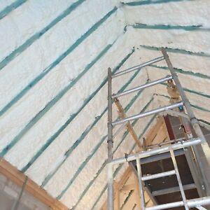 OPEN CELL SPRAY FOAM INSULATION-sprayed foam Loft/Attic insulation