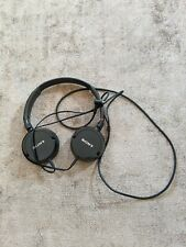 Sony MDR ZX300 Foldable Headphones Black Stereo Wired 1.2m Sound monitoring