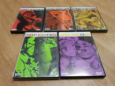 Cowboy Bebop 1st to 5th Sessions DVD Region 1    5 discs