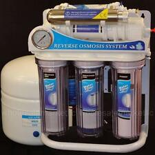 Reverse Osmosis UV Light Water Filter System Ultraviolet Sterilizer RO 100 GPD