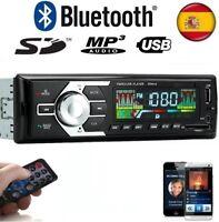 RADIO PARA COCHE CON BLUETOOTH 50X4 AUTORRADIO DE MICRO-SD/USB/AUX FM MP3  MANDO