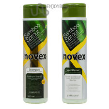 "Novex Bamboo Bambu Shampoo & Conditioner 10.14 oz ""Set"" w/ FREE Nail File"
