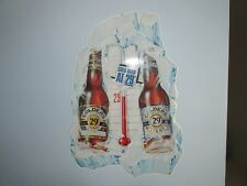 Beer Sign Miller Brewing Company Colders 29 degrees tin Rare Nice