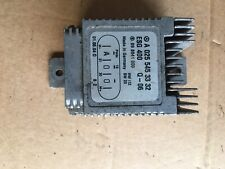 Mercedes SLK R 170 COOLING FAN RELAY MODULE A 025 545 33 32