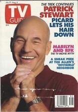 TV GUIDE July 31-August 6, 1993 ~ Patrick Stewart