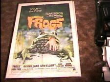 FROGS MOVIE POSTER '72 CLASSIC HORROR