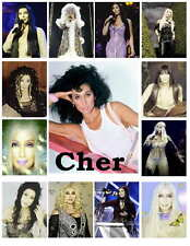 CHER PHOTO-FRIDGE MAGNETS  (Set 3of 3)  13 IMAGES
