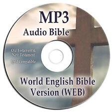 NEW World English Version MP3 Audio Bible-CD-Scripture-Faith-Jesus-Christian-God