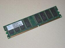 1GB (512MBx2) DDR 400MHz PC3200 184 pin CL3 DIMM Low Density Desktop Memory