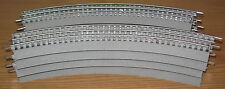 LIONEL 12015 O36 CURVED FASTRACK FAST TRACK CIRCLE O GAUGE TRAIN LAYOUT 8 PIECES