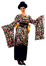 GEISHA GIRL COSTUME WOMENS ADULTS FANCY DRESS *