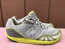 EUC New Balance Minimus Womens Size US 5 EUR 35 Running Shoes Gray/Yellow WR10GY