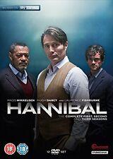 Hannibal - Season 1-3 [DVD][Region 2]