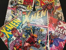 X-Men Collectors Edition Issues - Set of 5 Comic Books
