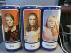 TENNENT`S LAGER_ LEE & HEATHER_ STEEL BEER CANS   -[EMPTY CANS, READ DESC.]-