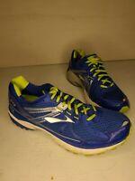 Brooks GTS 13 Mens SZ 12 D Blue Silver Running Shoes