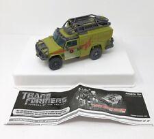 Transformers Desert Tracker Ratchet Rotf Revenge of The Fallen Voyager Manual