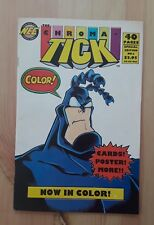 THE CHROMA TICK Special Edition No. 1 Rare Misprint - Signed by Ben Edlund