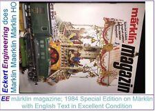 EE märklin magazine Special Jubilee English 1984 in Excellent Condition
