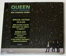 QUEEN+ PAUL RODGERS - THE COSMOS ROCKS - CD + DVD SPECIAL EDITION sigillato