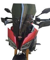 Yamaha MT-09 Tracer Touring Windshield Windscreen Deflector 55 cm 2015 2017