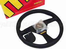 MOMO Steering Wheel - Mod 78 (330mm/Leather/Black Spoke)