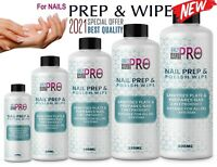 2021 Nail PREP & WIP Solution Gel Polish Cleanser Residue Remover PERFECT FINISH