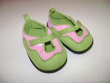 "American Girl 18"" Doll 2006 JESS KAYAKING SHOES GREEN RETIRED fit KANANI MCKENNA"