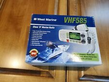 Vhf Class D Marine Boat Radio Vhf585 Series Digital New