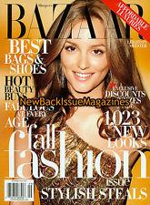 Bazaar 9/09,Leighton Meester,September 2009,NEW