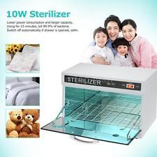 10W Towel Sterilizer UV Towel Cabinet Heater Sterilization 110V US Plug D6L0