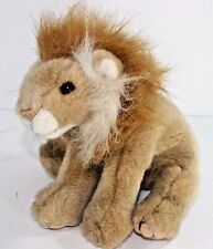 "Ty Classic Sahara Tan White Gold Lion Cub 10"" Plush 1997 Stuffed Animal"