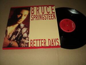"""@ BRUCE SPRINGSTEEN MAXI VINYL 12"""" HOLLANDE BETTER DAYS"""