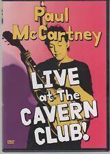 Mc CARTNEY PAUL McCARTNEY LIVE AT THE CAVERN CLUB! DVD BEATLES  NEW!!!
