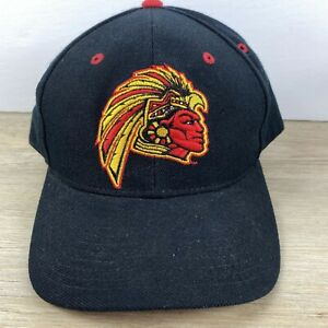 San Diego State Aztecs NCAA Size 7 1/2 Fitted Hat Cap Black College