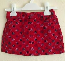 NEW Ex JoJo Maman Bebe Red Floral Skirt - 6 months to 5 years