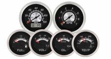Black Sterling 6 Gauge Kit with GPS Speedometer VeeThree