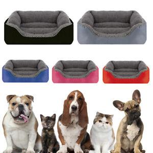 Pet Calming Bed Soft Warm Cat Dog Nest House Small Medium Large Washable Mat